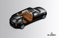 Range Rover armored SUV