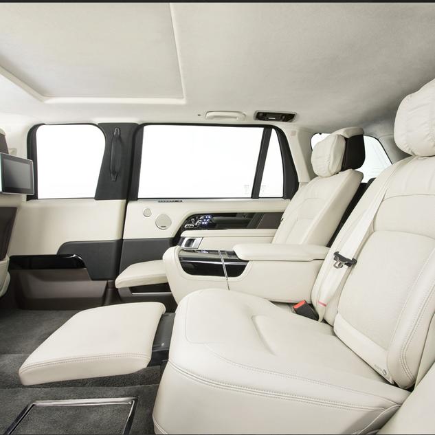 Gepanzerte Range Rover von Klassen