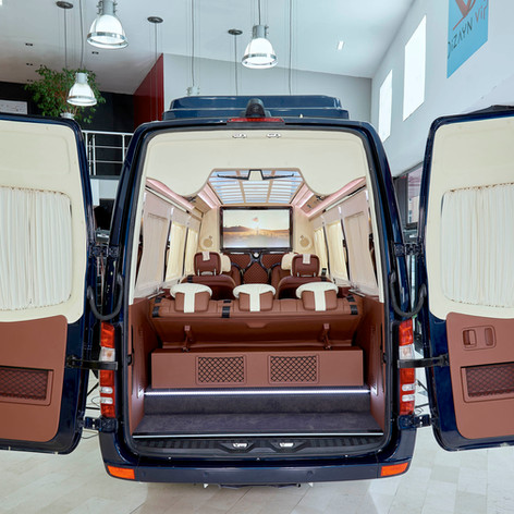 NEW Mercedes Benz Sprinter Luxury VIP Van, Bus Conversion by KLASSEN First Class Automobile.