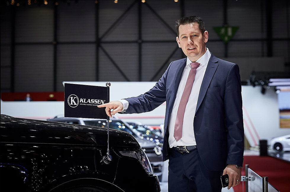 Paul_Klassen Chief Executive Officer CEO KLASSEN - Luxury VIP Cars and Vans - Armored and