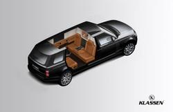 Range Rover Sentinel Panzerversion