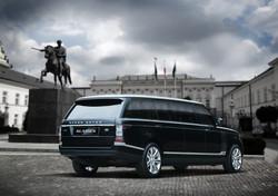 Bullet-proof luxury Range Rover VIP