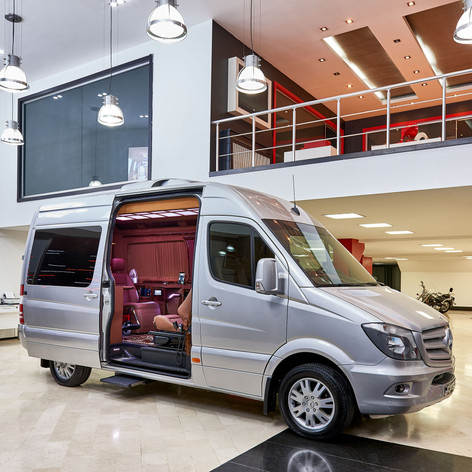 LUXURY MOBILITY SPRINTER VAN