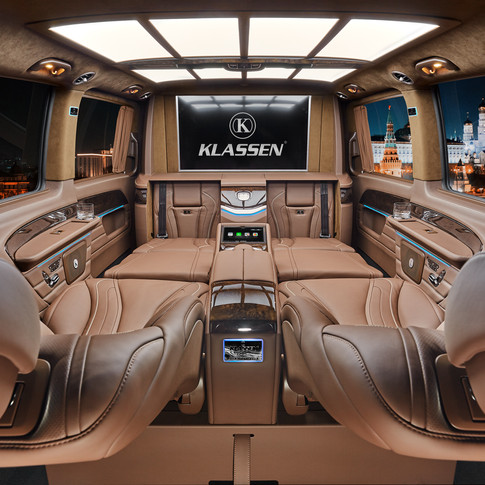 VIP Van, maßgeschneiderte Erweiterungen basierend auf der neuen Mercedes-Benz V-Klasse & Vito