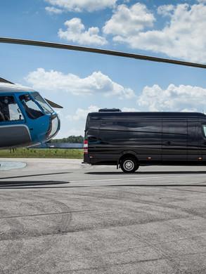 armoured VIP BUS based on Mercedes Sprinter