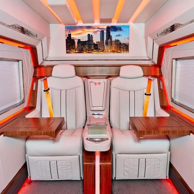 Gepanzerter Sprinter VIP Bus