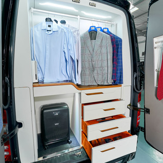The Mercedes Benz Sprinter belongs to the armored buses and vans category