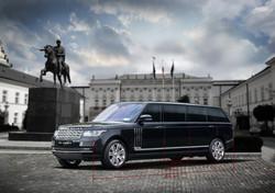 Range Rover Sentinel armored SUV