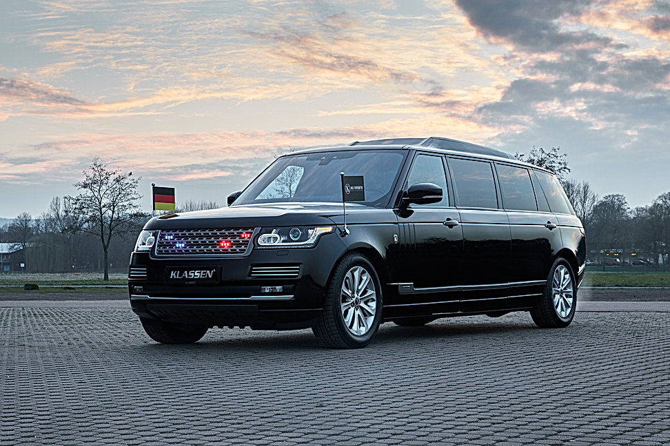 Range Rover  +1016mm  Stretched and armo