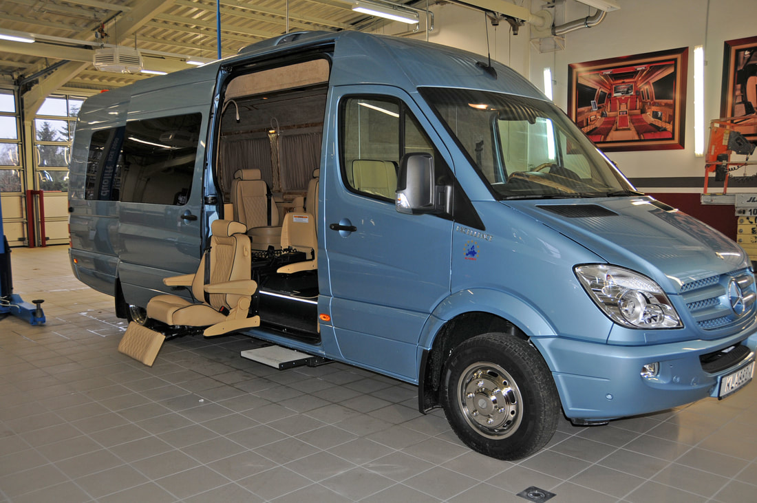 Handicap Mercedes Sprinter