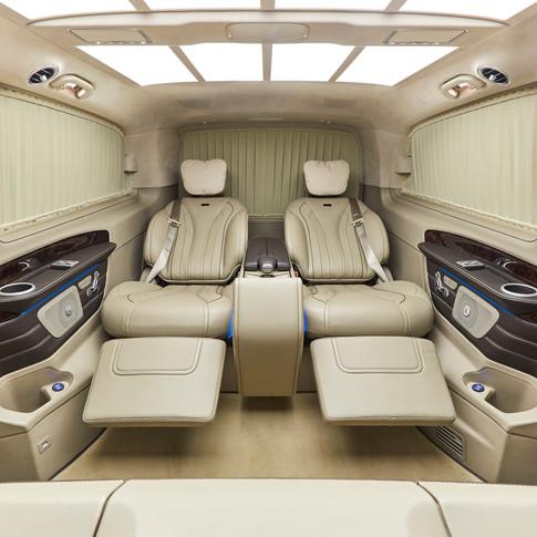 Мобильный кабинет KLASSEN на базе Mercedes V-Class