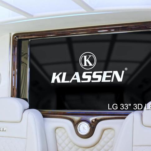 KLASSEN ® V-KLASS MIT EINER VIELZAHL AN AUSSTATTUNGSMÖGLICHKEITEN