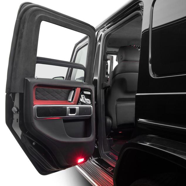 KLASSEN Safety  vehicle level VR7  based on MB G-Class W464 (MY 2020)
