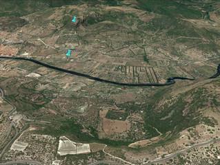 Analisi della distribuzione insediativa nella Planargia in rapporto con il fiume Temo in epoca preis