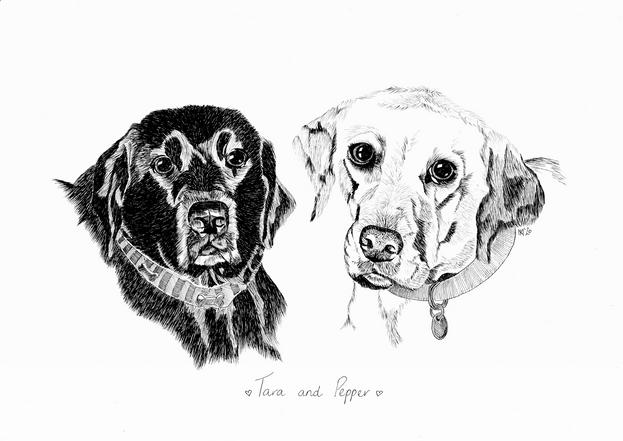 Tara and Pepper