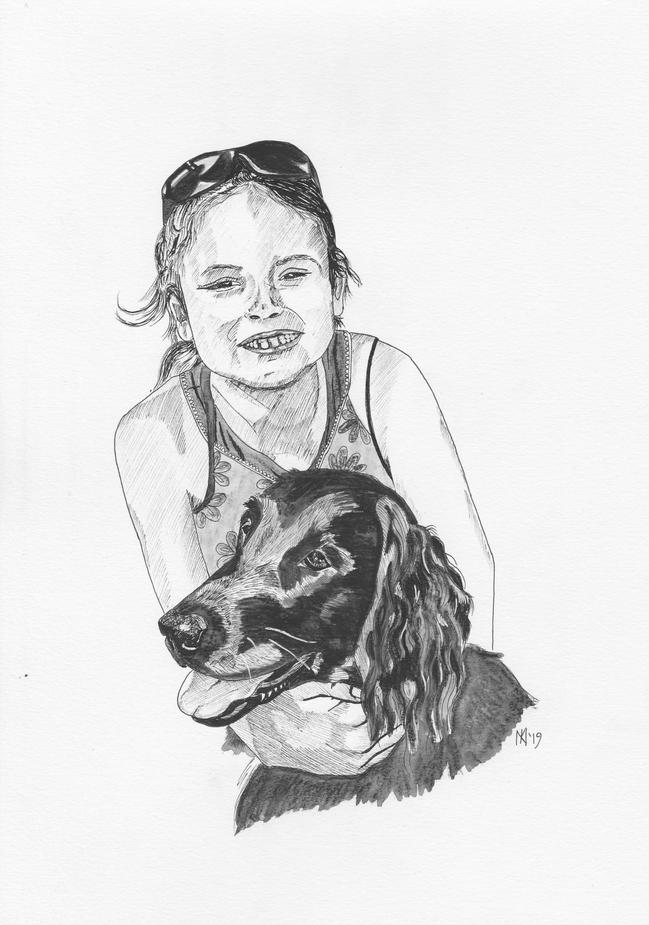 Ebonie and Anya