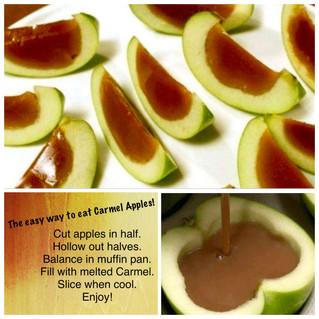 Easy Carmel Apple Slices