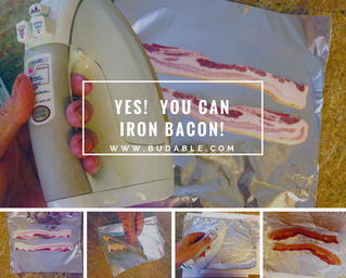 Yes, you can iron bacon!