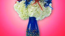 Celebrate July 4th with a simply explosive flower arrangement!
