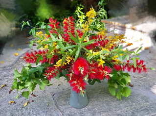 Watch this flower arrangement come together in seconds!