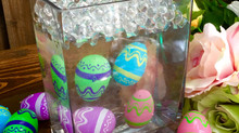 Floating Easter Eggs-Easy Peasy!