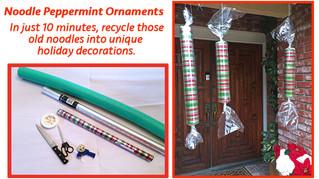 Noodle Peppermint Stick DIY