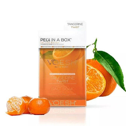 MOTHER'S DAY Voesh Tangerine Glow 4 Step Pedi & Body Lotion 8.5oz