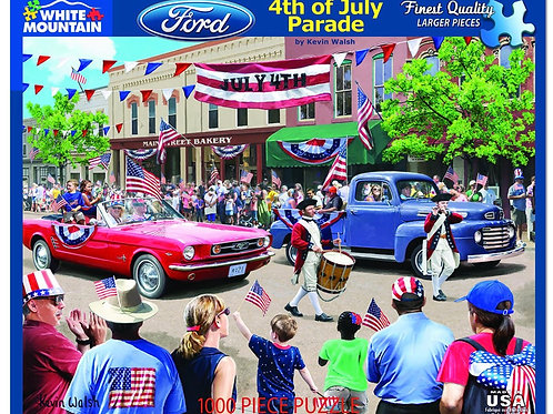 4th of July Parade - 1000 Piece Jigsaw Puzzle