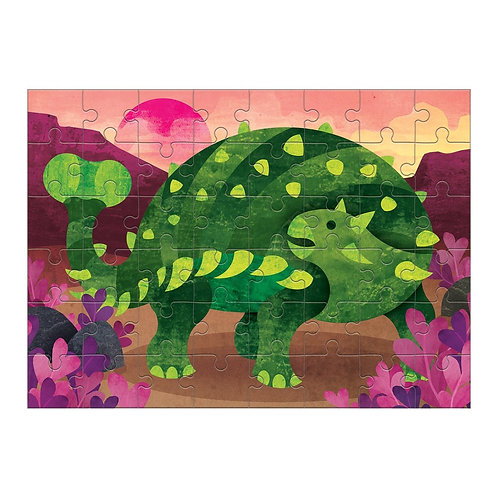 The Ankylosaurus Mini Puzzle