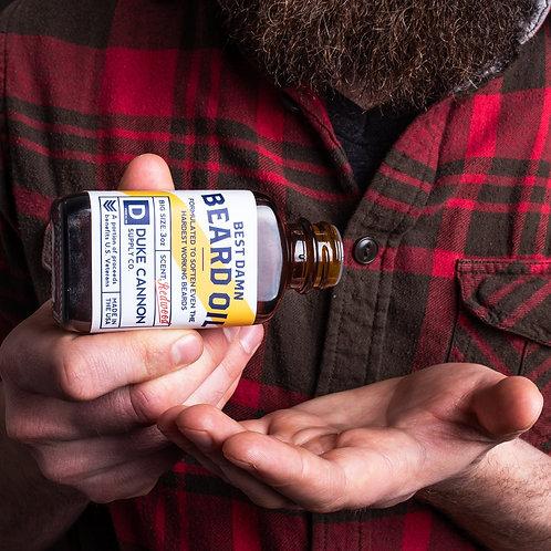 Duke Cannon - Beard Oil