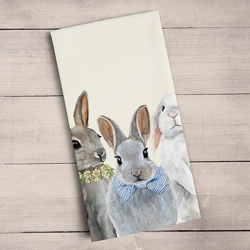 Bunny Bunch Tea Towels