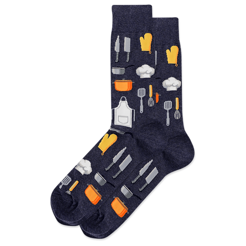 HOTSOX - Men's Chef Crew Sock