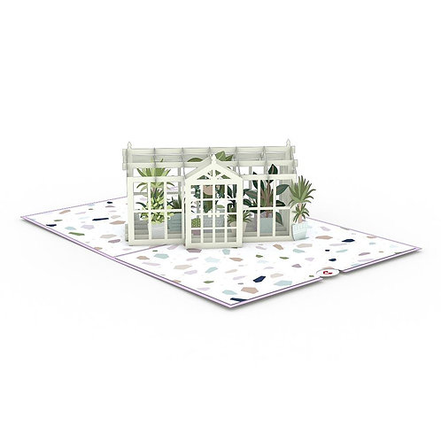 Love Pop - Greenhouse Garden Card
