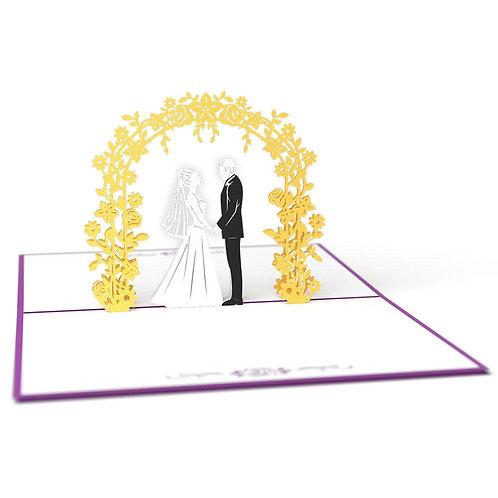 Love Pop - Wedding Day Card