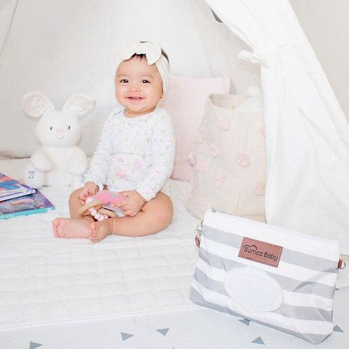 Baby Bumco - The Diaper Clutch - Grey