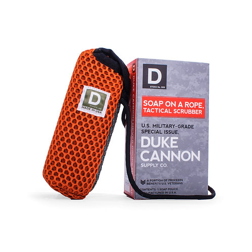 Duke Cannon - Soap On A Rope Tactical Scrubber