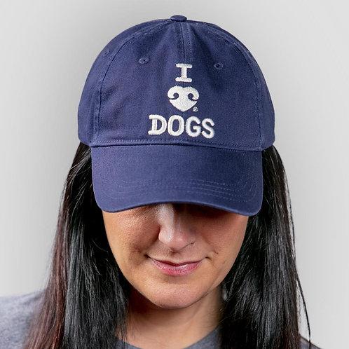 Bee Attitudes - I Heart Dogs Baseball Cap