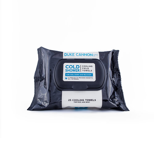 Duke Cannon - Cold Shower Face and Body Field Towels