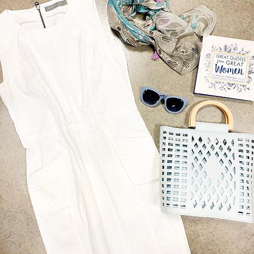 209 WST 38 - White Jumper Dress