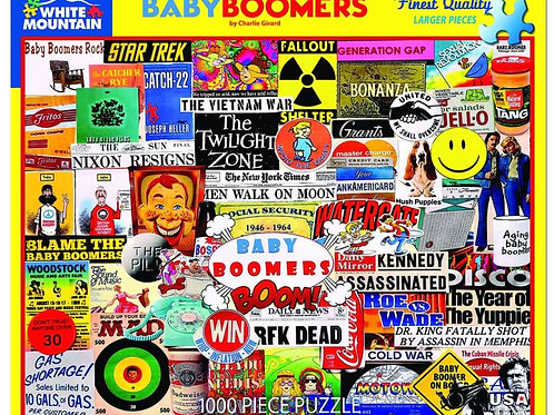 Baby Boomers - 1000 Piece Jigsaw Puzzle