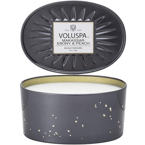 Voluspa Candle - 2 Wick Oval Tin Candle