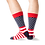 Thumbnail: HOTSOX - Men's Flag Crew Socks