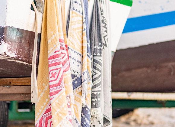 מגבת חוף טורקית Cross