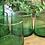 כוסות זכוכית ירוקות ממוחזרות