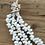 שרשרת קישוט לבנה דגם באלינזית
