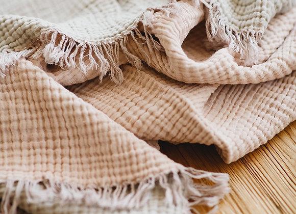 שמיכה בצבע גוף דגם אבקת החלומות