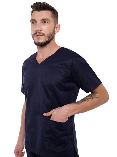 Mens Premium Scrub Suit with Embroidery