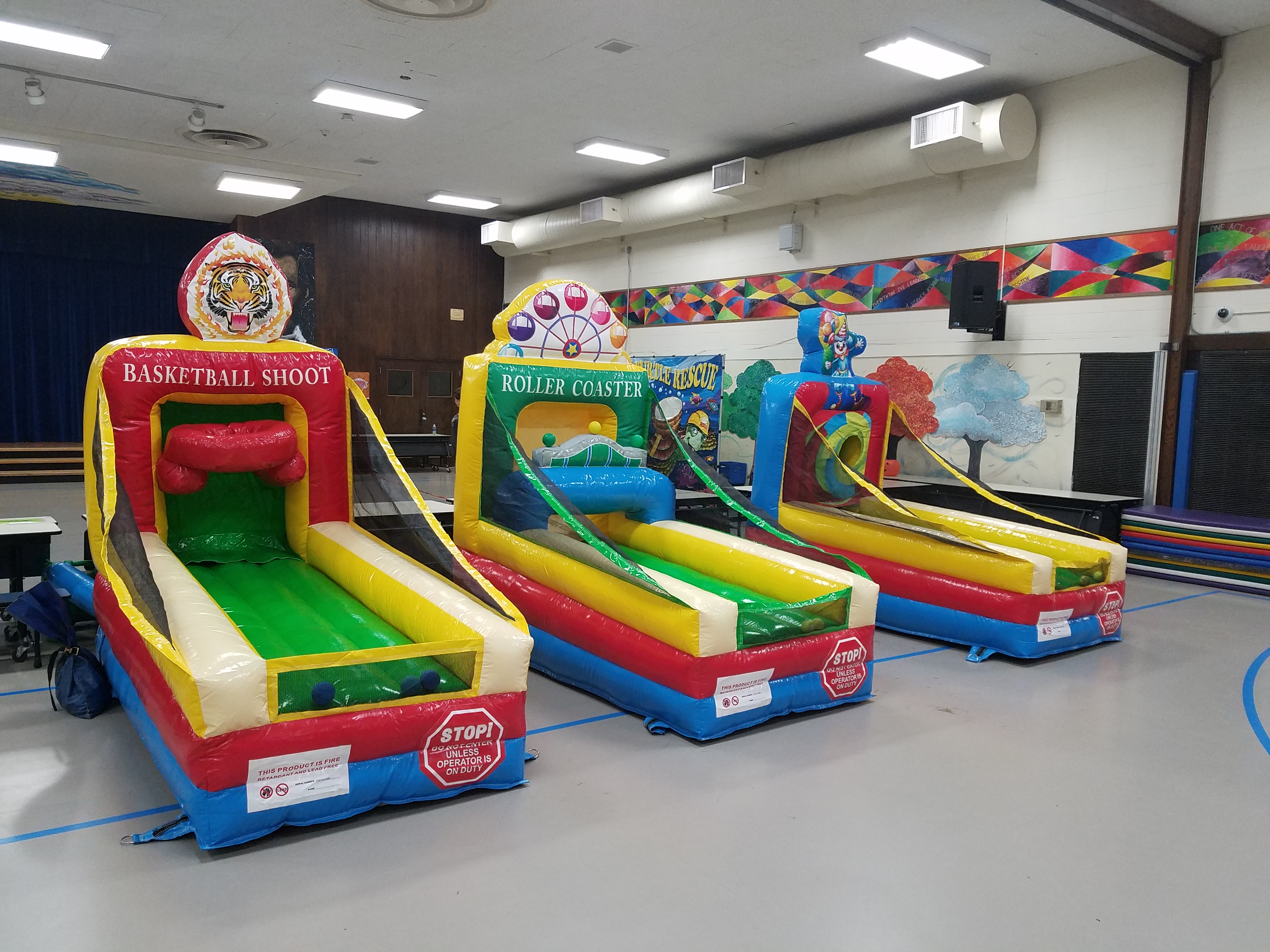 Mini Inflatable Games