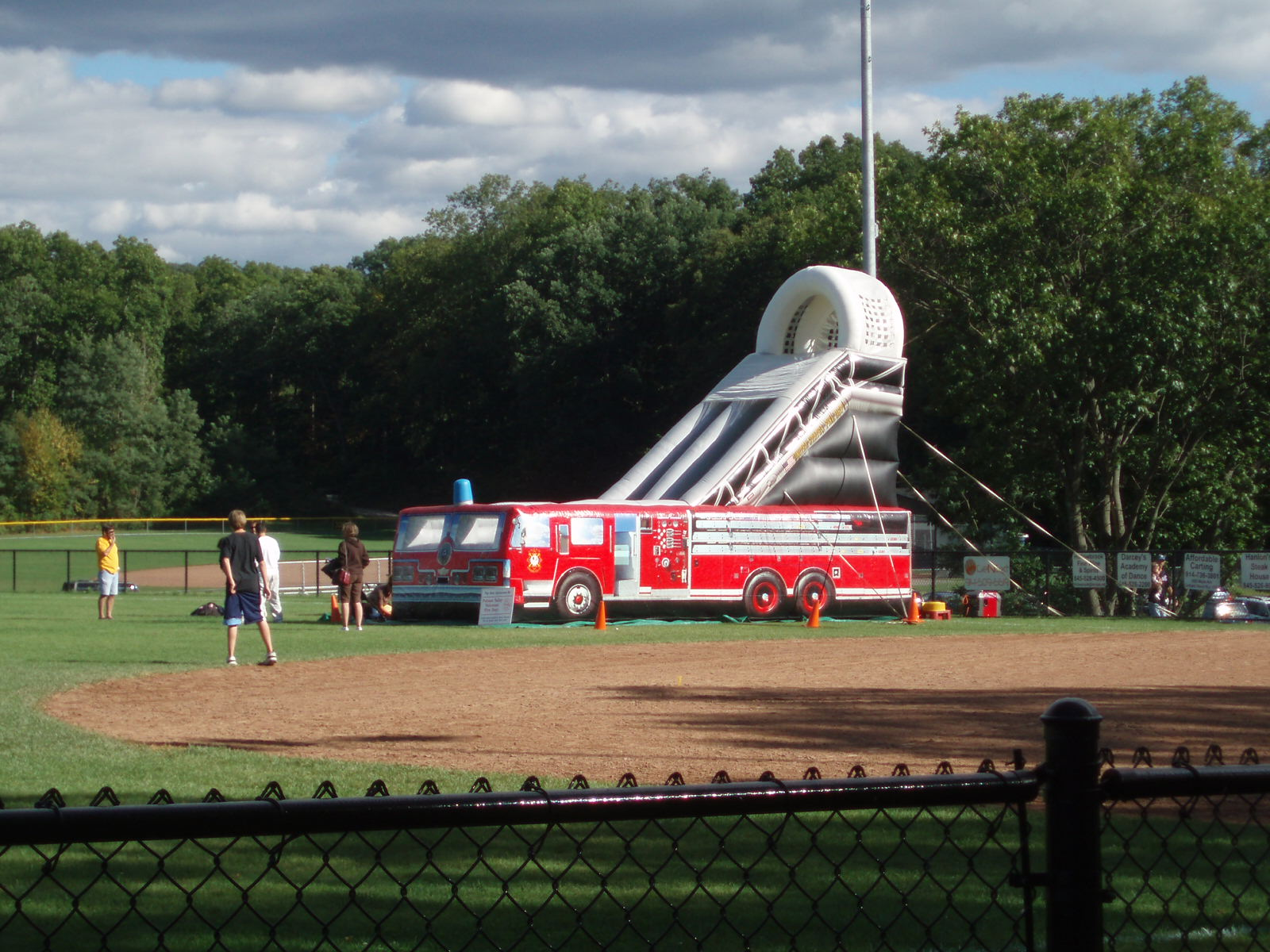 20' Fire Truck Slide