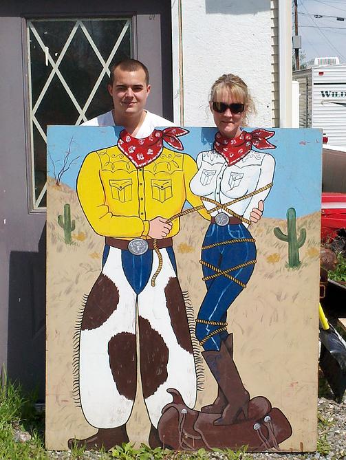 Photo Board Wild West